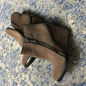 Vince Camuto wedge boots